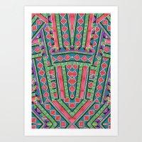 watermelon tribe Art Print