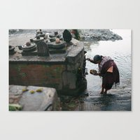 Morning Rituals Canvas Print
