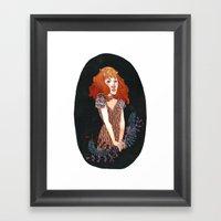 Strangeness And Charm Framed Art Print