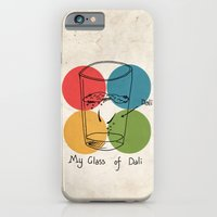 This is my glass of Dali iPhone 6 Slim Case