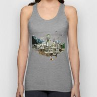 Collage City Mix 7 Unisex Tank Top
