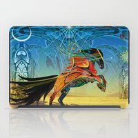 The Wind of Time (Red Horse) iPad Case