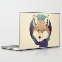 fox Laptop & iPad Skins featuring Fox by Laura Graves