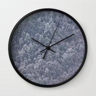 Winter's Chill Wall Clock