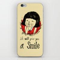 Shiiii- You Will Smile :… iPhone & iPod Skin