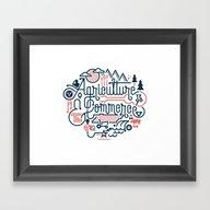 Framed Art Print featuring Tennessee by Matt Lehman