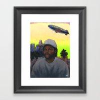 'ICE CUBE'S A PIMP!' (Gr… Framed Art Print