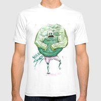 Hulk Mens Fitted Tee White SMALL