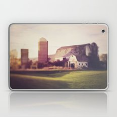 autumn barn Laptop & iPad Skin