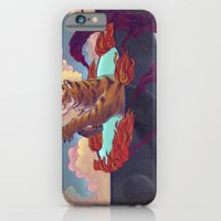 iPhone & iPod Case featuring Ring of Fire by Miguel Co