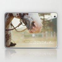 horses make me whole Laptop & iPad Skin