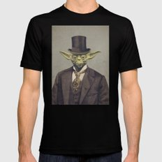 Sir Yodington  Mens Fitted Tee SMALL Black
