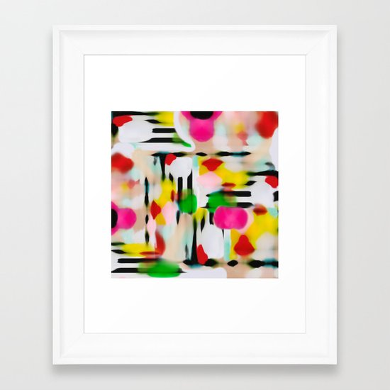 Colour Love Framed Art Print