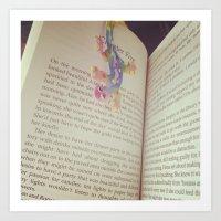 Book Art Print