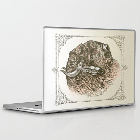 Buffalo Portrait Laptop & iPad Skin