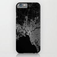 Melbourne Map Australia iPhone 6 Slim Case