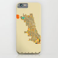 chicago iPhone & iPod Cases featuring Chicago by Nicksman