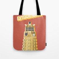 Dalek Doctor Who Tote Bag