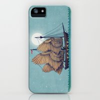 iPhone Cases featuring Winged Odyssey by Terry Fan