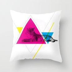 HYPSTER TYGER Throw Pillow