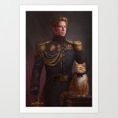 Regency Hux Art Print