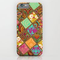 iPhone & iPod Case featuring Patchwork Paisley by Aimee St Hill