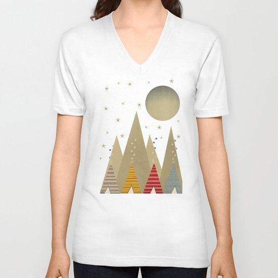 paradise V-neck T-shirt