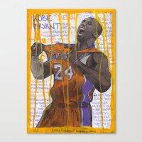 NBA PLAYERS - Kobe Bryan… Canvas Print