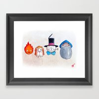 Make the Unlikeliest of Friends, Wherever You Go 3 Framed Art Print
