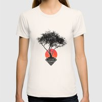 Precious Womens Fitted Tee Natural SMALL