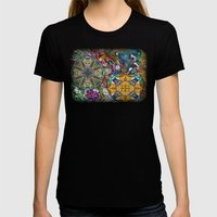 His Glory Womens Fitted Tee Black SMALL