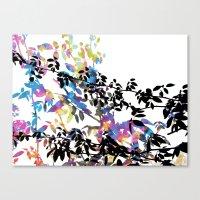 Rose Vine Ecstasy Canvas Print