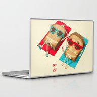 Laptop & iPad Skin featuring Toast by Vó Maria