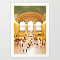 Grand Central Station NY… Art Print