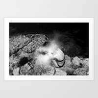 Enter the Dust 02 Art Print