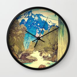 Wall Clock - The Walk to Hokodoyama - Kijiermono