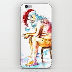 Santa Claus iPhone & iPod Skin