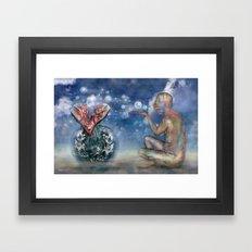 Save our World 19  Framed Art Print