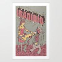 IRADIDIO N°3 Art Print