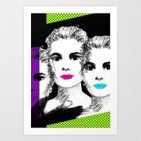 Gracia Art Print