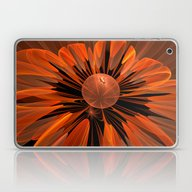 Laptop & iPad Skin featuring Fantasy Flower With A Wa… by Thea Walstra