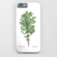 Red Russian Kale iPhone 6 Slim Case