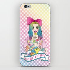 Candy Girl iPhone & iPod Skin