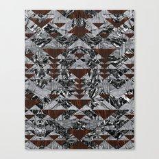 Wood Galaxy Canvas Print