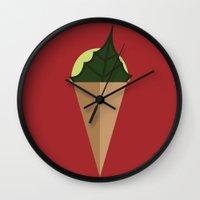 Poison Paradise Wall Clock