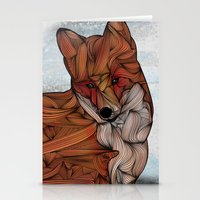fox Stationery Cards featuring Red Fox by Ben Geiger