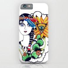 Cactus Eye Tattoo Style iPhone 6 Slim Case