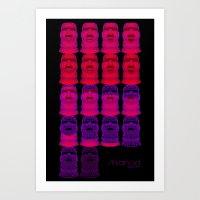 Arkanoid Art Print