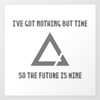 The Future Is Mine Art Print