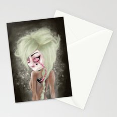 black heart Stationery Cards